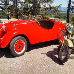 FIAT Topolino und Puch 175