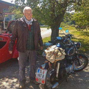 Toni Hohenauer und seine Puch 175